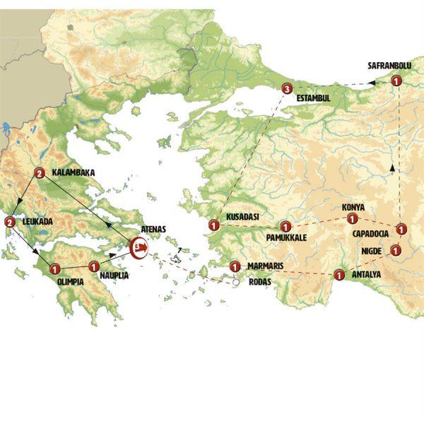 Clasicos Grecia y Turquia