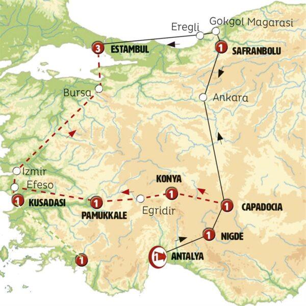 Costa Turquesa y Capadocia