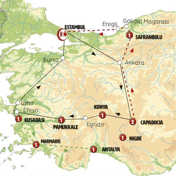 Turquía 9 días circuito 1