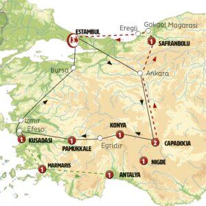 Estambul Capadocia y Mar Negro