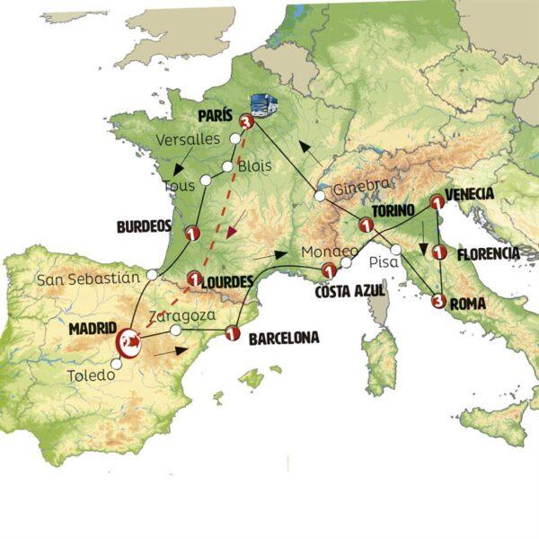 Europa Soñada con Lourdes