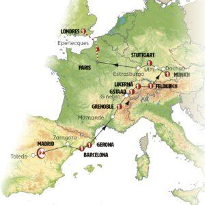 Paseo Europeo 14 días