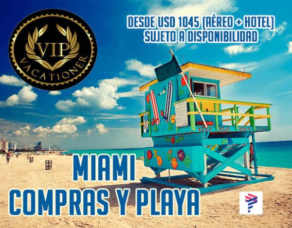 Miami con LATAM